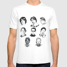 A Hero With A Thousand Faces Mens Fitted Tee MEDIUM White