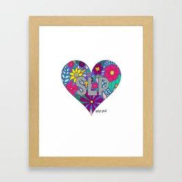 Whimsical Heart SLP Framed Art Print