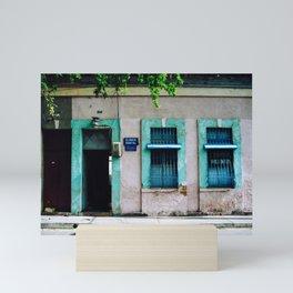 Consultorio en La Candelaria Mini Art Print