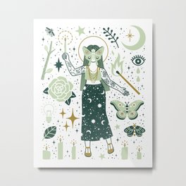 The Guide Metal Print