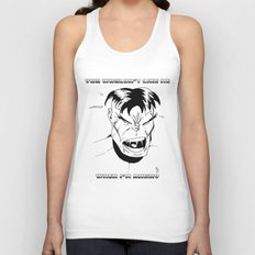 Hulk - You Wouldn't Like Me When I'm Angry - 2012 Unisex Tank Top