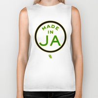 jamaica Biker Tanks featuring Made in Jamaica by DCMBR - December Creative Group