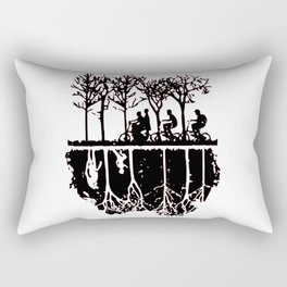 Stuck in the upside down, Strange eleven thing gift Rectangular Pillow