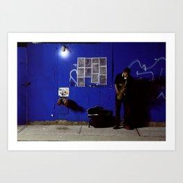 JazzBlock Art Print