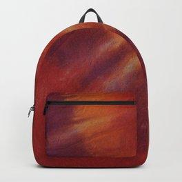 Tie Dye Red Orange Backpack