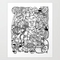 Murray Pile-Up Art Print
