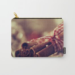 Cinnamon and almond scent for Christmas Carry-All Pouch