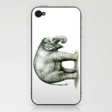 Baby Elephant (2) g008 iPhone & iPod Skin