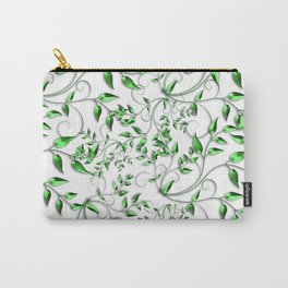 PALM LEAFY GREEN LEAVES Carry-All Pouch