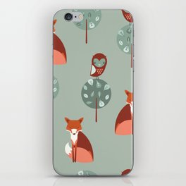 Fox Woods iPhone Skin