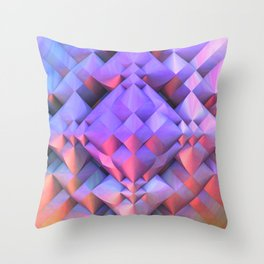 Dreaming in 3-D Throw Pillow