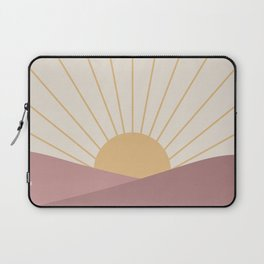 Morning Light - Pink Laptop Sleeve