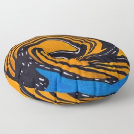 Monarch, Spiralized Floor Pillow