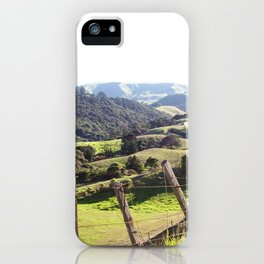 Green Rolling Hills iPhone Case