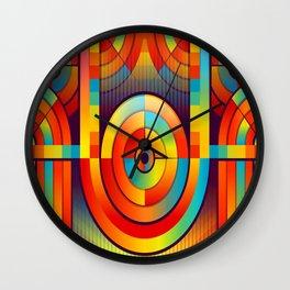 Isla Bonita Wall Clock