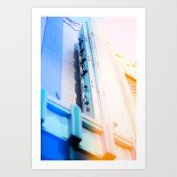 cinema Art Prints featuring Cinema by Mark Mayr