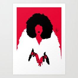 Furrella De vil Art Print