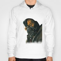bane Hoodies featuring BANE by csmithart