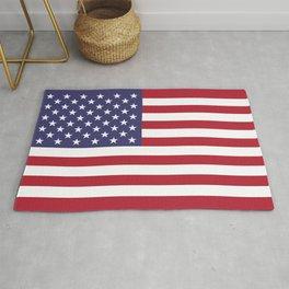 Flag of USA, 10:19 scale prints Rug