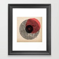 - the love - Framed Art Print