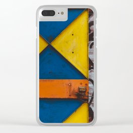 East Village IV Clear iPhone Case
