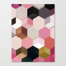 colour + pattern 17 Canvas Print