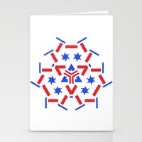 patriotic Stationery Cards featuring Patriotic by Robin Curtiss