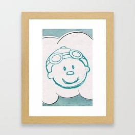 Mr. Meteo Framed Art Print