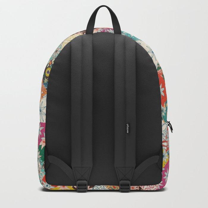 sarilmak patchwork Backpack