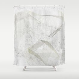 Elegant scadinavian art Shower Curtain