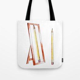 No. 1 Pencil Tote Bag