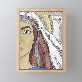 Junia Framed Mini Art Print