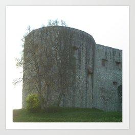Schloss Hellenstein   (A7 B0091) Art Print