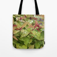 drink Tote Bags featuring Drink by Kim Hawley