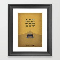 Breaking Bad - Shotgun Framed Art Print
