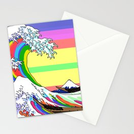 The Great Wave off Kanagawa (Colorful) Stationery Cards