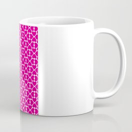 Pink Trefoil Coffee Mug