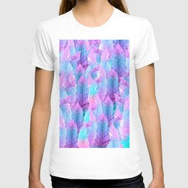 Mermaid Colored Leaves Vibes #1 #decor #art #society6 T-shirt