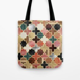 Twilight Moroccan Tote Bag