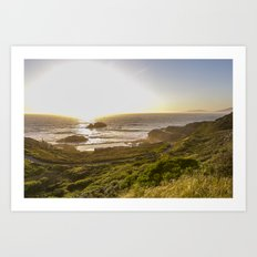 SF Lands End Art Print