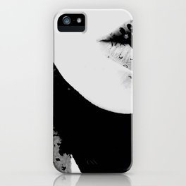 pois on mouth iPhone Case