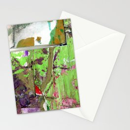 Green Earth Boundary Stationery Cards