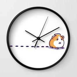 Guinea Pig Pellet Wall Clock