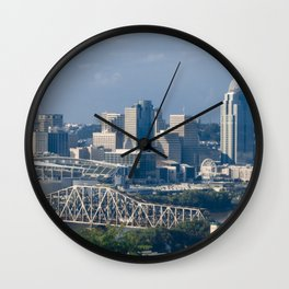 Cincinnati - KPAK3H Wall Clock
