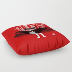 Christine (Red Collection) Floor Pillow