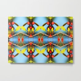 Ornamental Nature Metal Print
