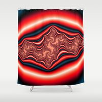 psychedelic Shower Curtains featuring Psychedelic by Mi Nu Ra