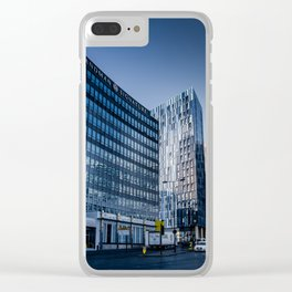 Urban Mountains Clear iPhone Case