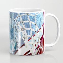 Basketball art spotlight vs 2 Coffee Mug