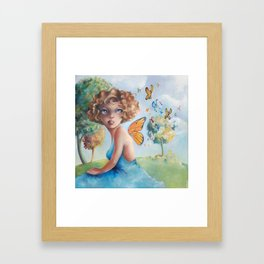 Amelia, Courage to Fly Framed Art Print